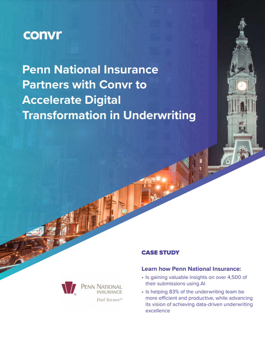 Case Study: Penn National Insurance Partners with Convr to Accelerate Digital Transformation in Underwriting