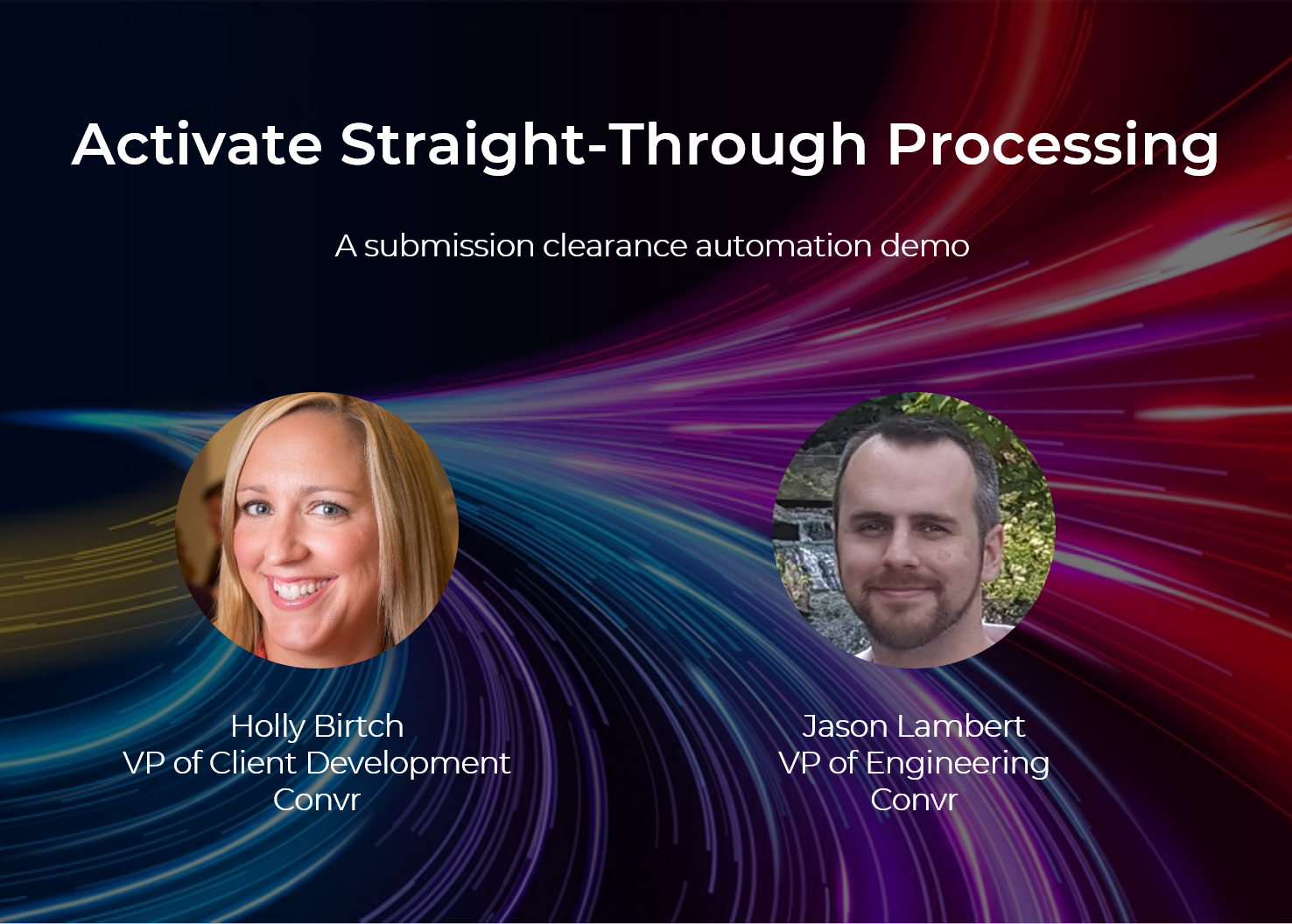 Webinar: Activate Straight-Through Processing